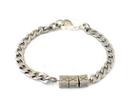 Stainless steel armband XXX