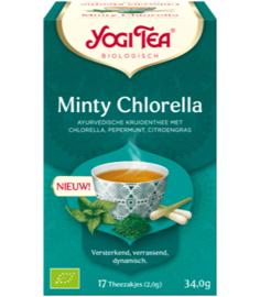 Yogi Tea Minty Chlorella (17 theezakjes)