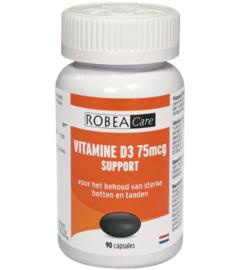 RobeaCare Vitamine D3 75mcg (2 x 90caps)