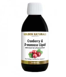 Golden Naturals  Cranberry & D-mannose Liquid (250ml)