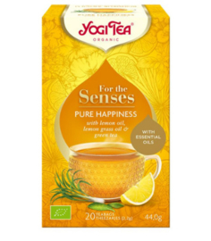 Yogi Tea for the senses pure happiness (20 theezakjes)