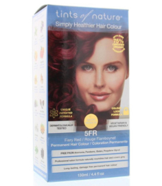 Tints of Nature Fiery Red 5FR