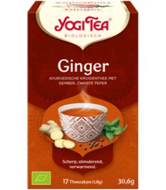 Yogi Tea Ginger (17 theezakjes)