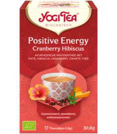 Yogi Tea Positive Energy Cranberry Hibiscus (17 theezakjes)