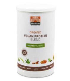 Mattisson Vegan Protein Blend Poeder Bio 67% (400 gr.)