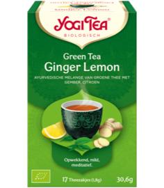 Yogi Tea Green Tea Ginger Lemon (17 theezakjes)