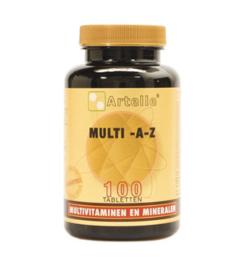 Artelle Multivitamine A/Z (100 / 250 tabl.)