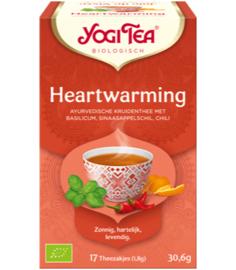 Yogi Tea Heartwarming (17 theezakjes)