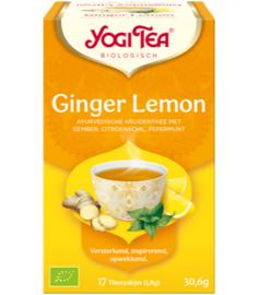 Yogi Tea Ginger Lemon (17 theezakjes)
