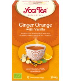 Yogi Tea Ginger Orange with Vanilla (17 theezakjes)