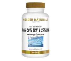 Golden Naturals  Visolie 50% EPA & 25% DHA  (60 - 180 softgel caps.)