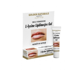 Golden Naturals L-Lysine Lipblaasjes Gel (15ml.)
