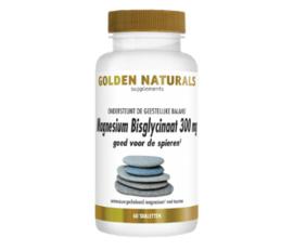 Golden Naturals Magnesium Bisglycinaat (60 - 90 - 180 vega. tabl.)
