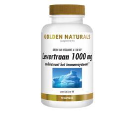 Golden Naturals Levertraan ( 90 softgel caps.)