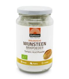 Mattisson Wijnsteen Bakpoeder Bio (180 gram)