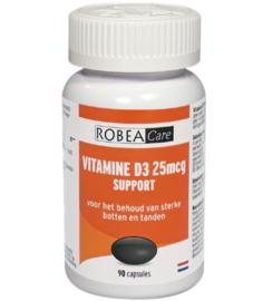 Robeacare Vitamine D3 25µg (2 x 90 caps.)