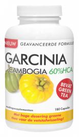 Natusor Garcinia Cambogia 60% HCA (2 x 180 caps met gratis afslankgel)