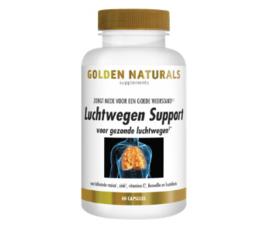 Golden Naturals Luchtwegen Support (60 vega. caps)