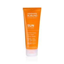 Annemarie Börlind Sun Anti-Aging SPF 15 Zonnebrand crème (75 ml.)
