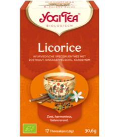 Yogi Tea Licorice (17 theezakjes)