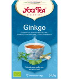 Yogi Tea Ginkgo (17 theezakjes)