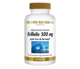 Golden Naturals Krillolie omega-3 (60 - 180 caps)