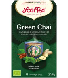 Yogi Tea Green Chai (17 theezakjes)