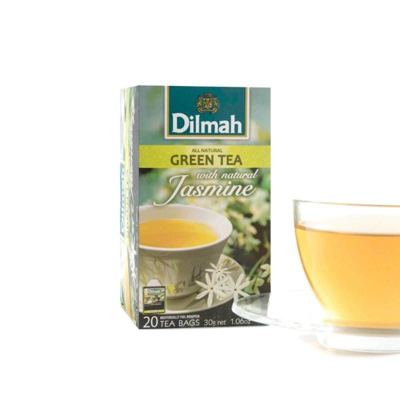 Dilmah Groene thee met jasmijn (20 theezakjes)