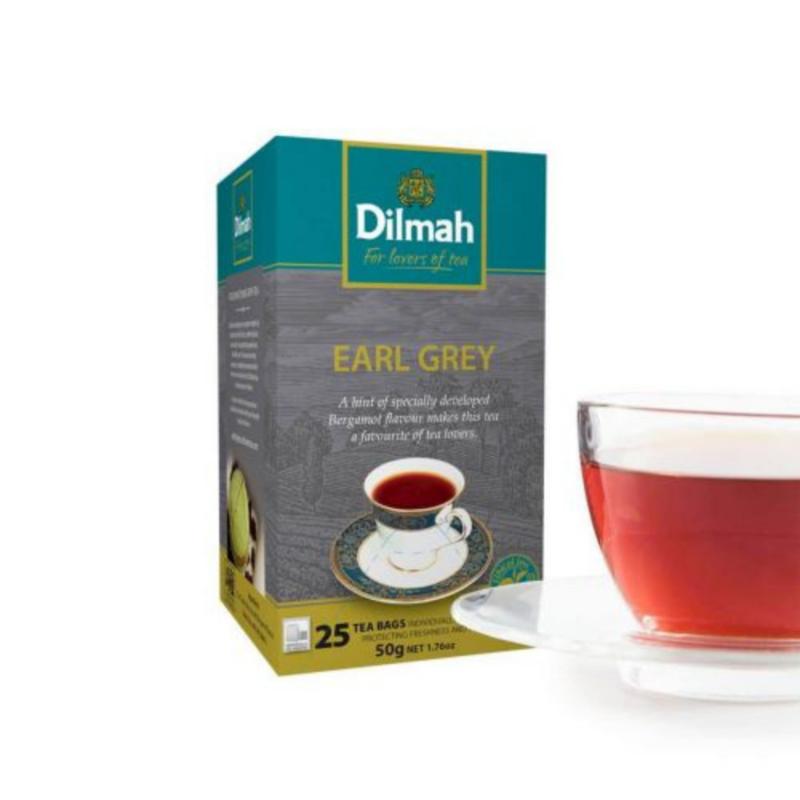 Dilmah Earl Grey thee (25 theezakjes)