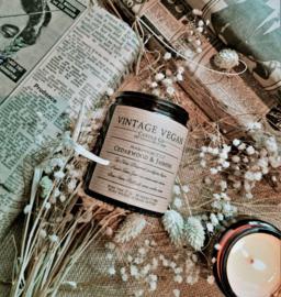 Vintage Vegan Candles Geurkaars Cedarwood & Jasmine
