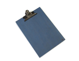 Clipboard | A4 | Blauw