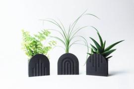 COPO Design |  Vaascover Up | Gerecycled hout | Zwart | 6cm