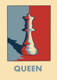 Esque   Poster   Queen   Chess   Backorder