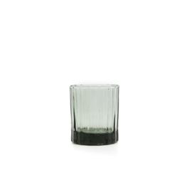 Brût | Homeware Whiskey Glas 25 CL Smokey Green, set van 4