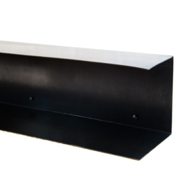 Wandplank XL | Staal | Zwart