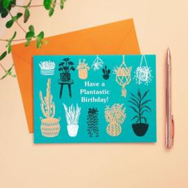 Have A Plantastic Birthday Kaart |BACKORDER