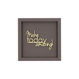 Werkpunk Make Today Amazing | Donkergrijs | M