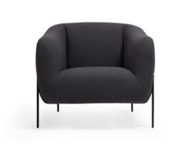 Lounge stoel Nara | Zwart