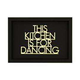 Werkpunk This Kitchen... | Zwart | L