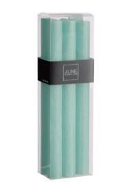 J-Line |  Kaarsen | Set van 6 | Aqua