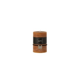 Zylinderkerze | Karamell | 7,5 cm