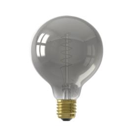 Calex LED Flex Globe 95mm 4W Titanium 2100K 473883