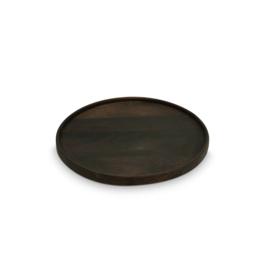 Serving board | Mango wood | Black | Ø40 cm
