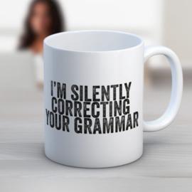 Mok I'm Silently Correcting Your Grammar