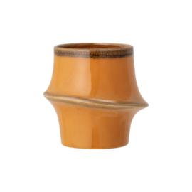 Flowerpot | Stoneware | Orange