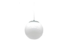 Lampe solaire à suspension - Blanc 20cm