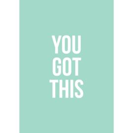 Kaart | You got this | A6