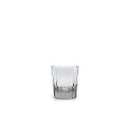 Brût | Homeware Reed Espresso Glas 7 CL Clear, set van 6