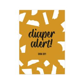 Kaart | Diaper Alert! | A6
