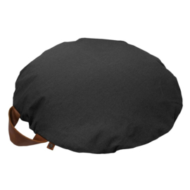 Pillow round canvas - Anthracite